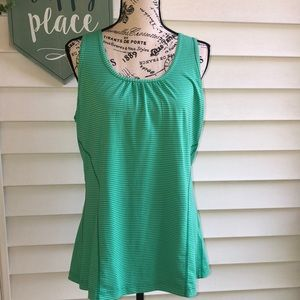 Kirkland Racerback Green Tank Top Large
